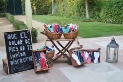 Decoración de boda La Quinta del Jarama