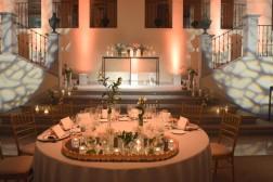 Decoración de boda en La Quinta del Jarama