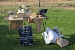Decoración de bodas en el campo